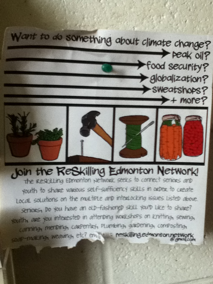 Edmonton Reskillng Network sign