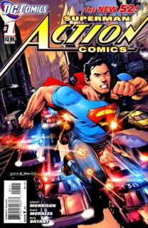 rebooted Action Comics #1