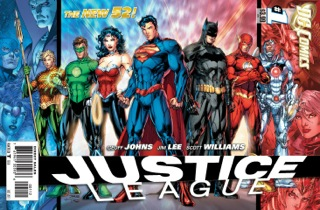 the rebooted Justice League