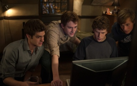 still from The Social Network
