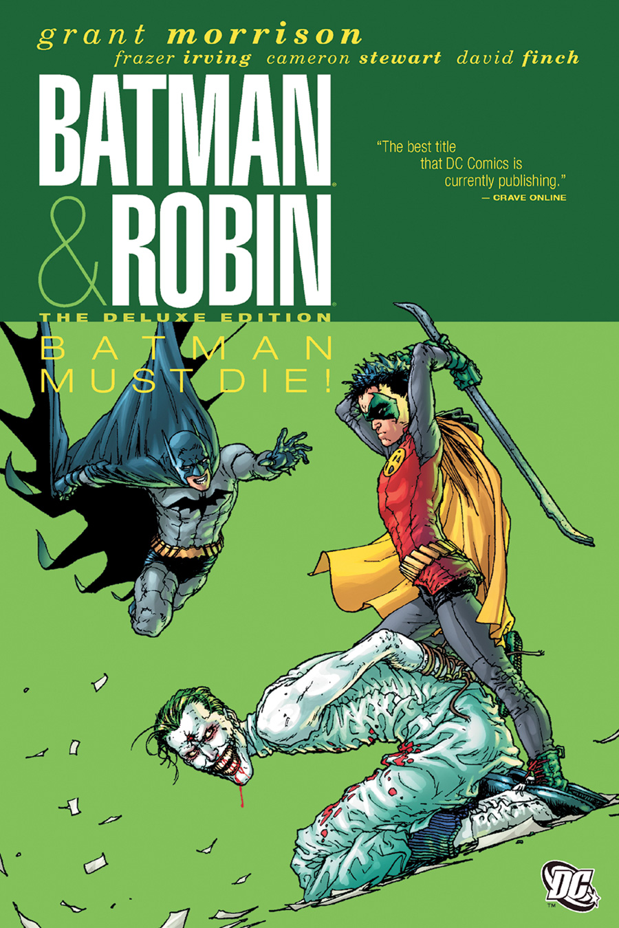 Batman and Robin comic