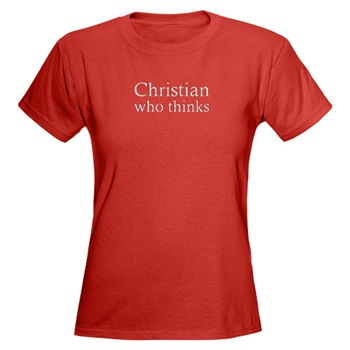christian who thinks t-shirt
