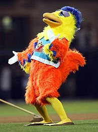 the San Diego Chicken
