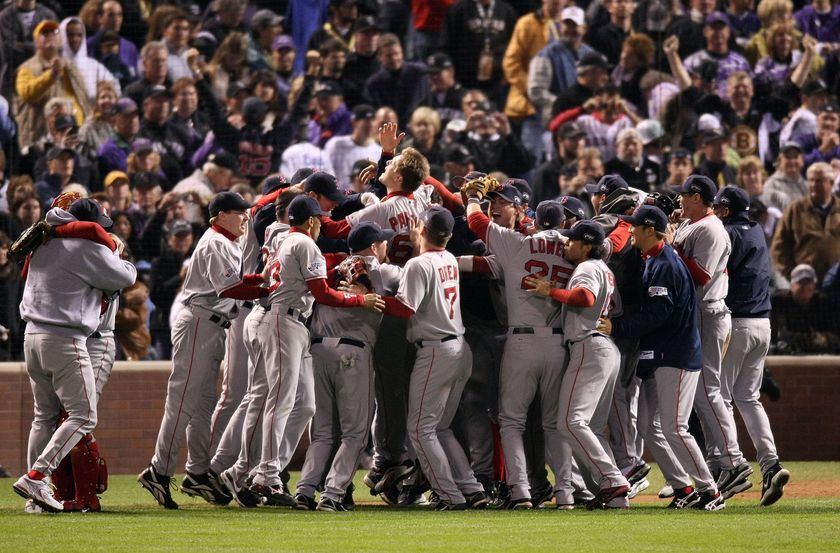 boston red sox winning the world series