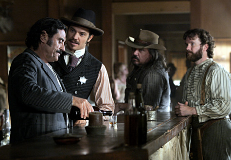 scene from Deadwood