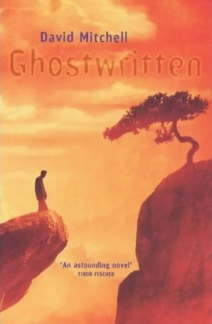 book cover for Ghostwritten, by David Mitchell