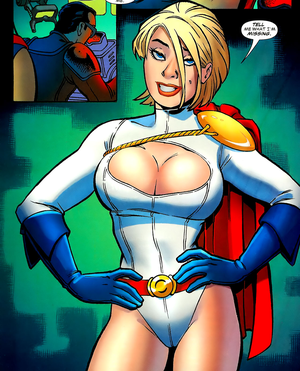 "female superhero ""power girl"""