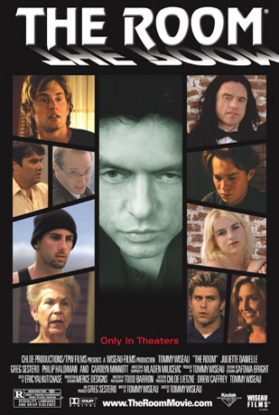 poster for the movie The Room