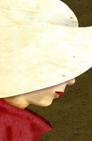headwear from The Handmaid's Tale