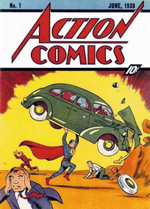 cover of Action Comics no. 1