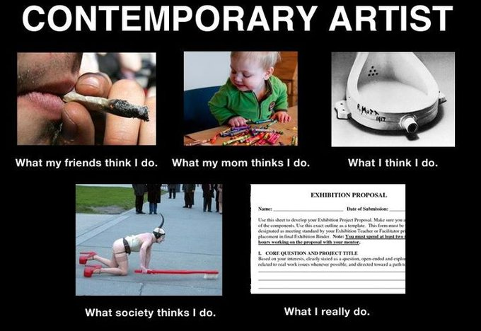What I Do - contemporary artist