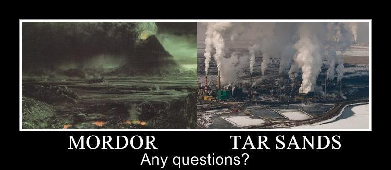 mordor and the tar sands