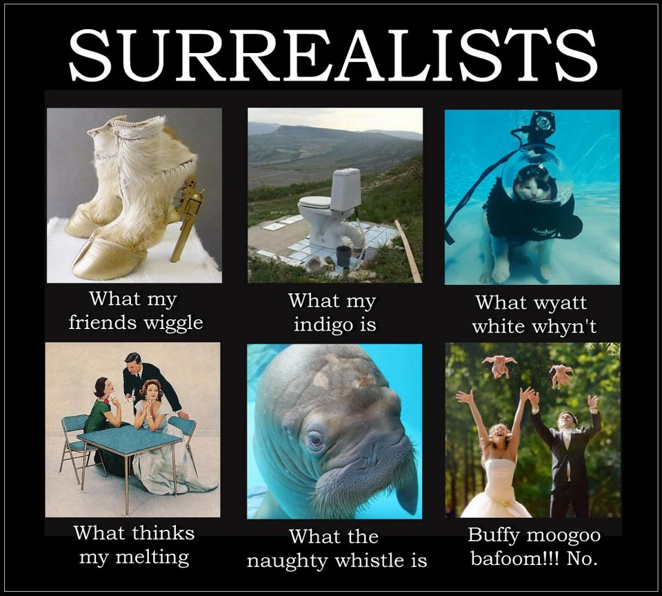 What I Do - Surrealists