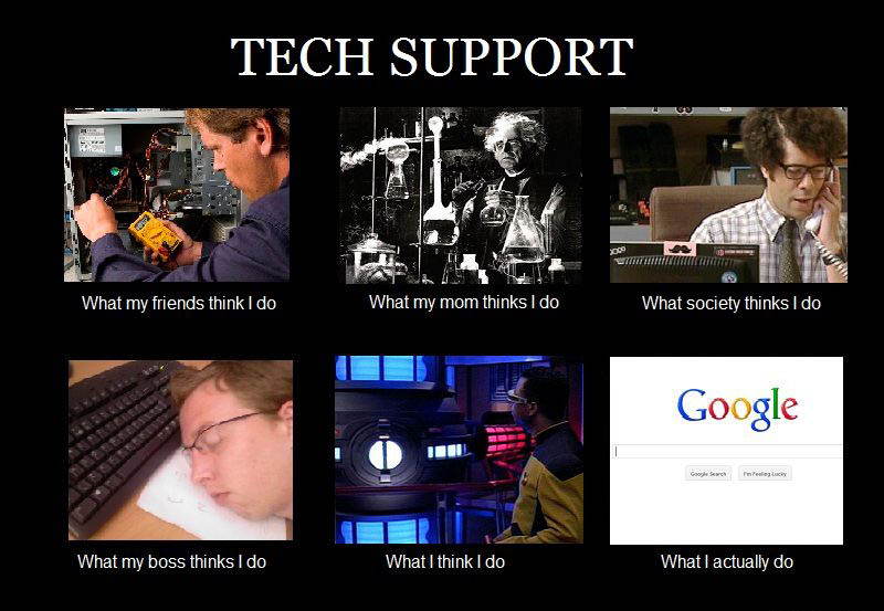 Tech Support - What I Do