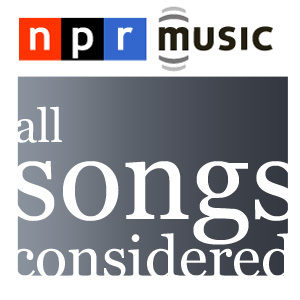 NPR's all songs considered logo
