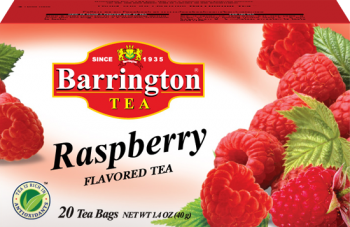 Raspberry flavoured tea