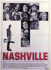 movie poster for Nashville