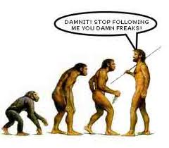 evolution funny