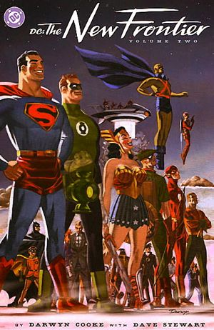 Front cover for DC: The New Frontier, by Darwyn Cooke